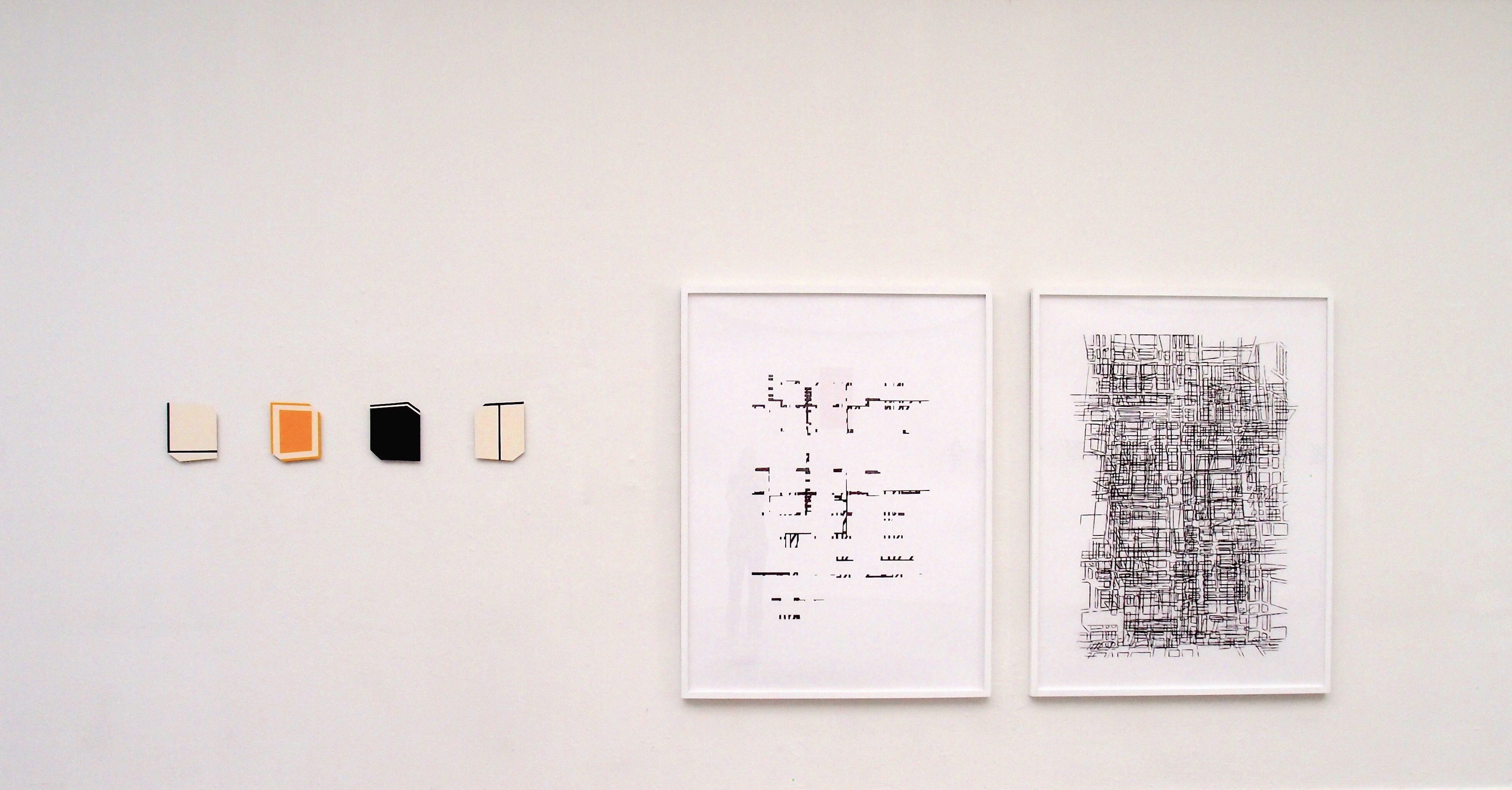 Gerda Kruimer, 4 Punatics & 2 big Drawings on show in Contemporary Contemplations in Arti et Amicitiae in Amsterdam